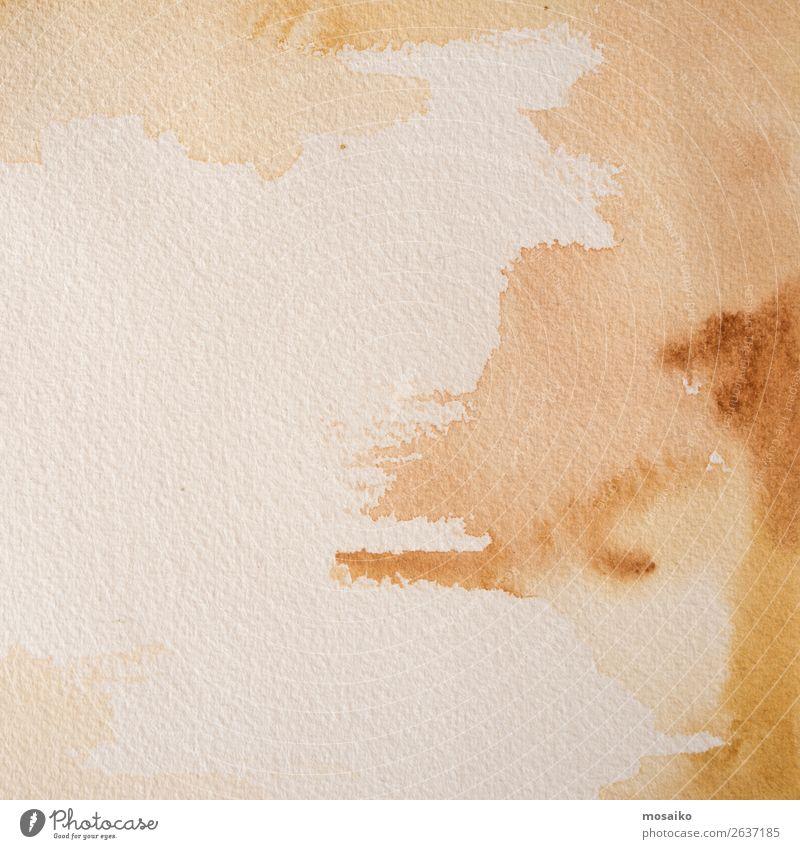 Aquarell auf Papier Design Freizeit & Hobby Basteln Kindererziehung Bildung Kindergarten Schule Kunst Maler Gefühle Zufriedenheit Lebensfreude Optimismus