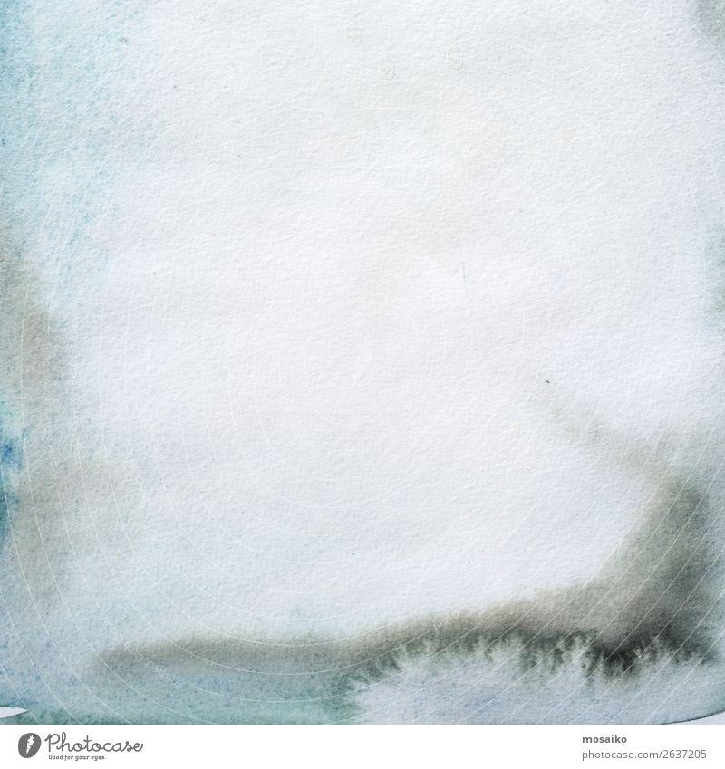 Aquarelle auf Papier Kunst Gemälde Gefühle Leidenschaft schön friedlich Opferbereitschaft Gelassenheit geduldig ruhig Temperafarbe Bildung Intuition Kreativität
