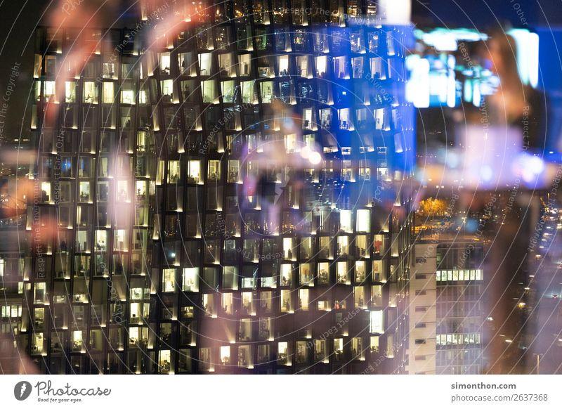 Office Ferien & Urlaub & Reisen Stadt Haus Architektur Lifestyle Feste & Feiern Gebäude Business Party Horizont modern Erfolg Tanzen Energie Skyline Hauptstadt