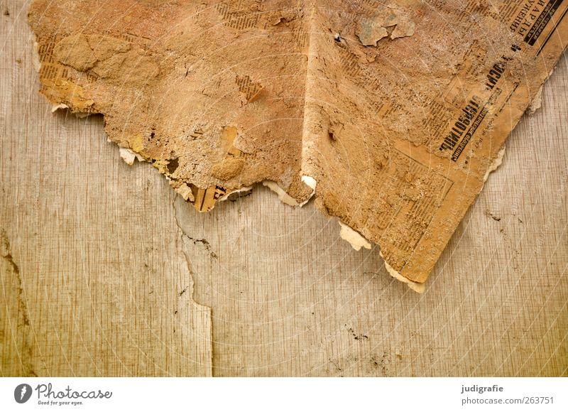 Garnison Mauer Wand alt kaputt trashig Vergangenheit Vergänglichkeit Wandel & Veränderung Tapete Zeitung Farbfoto Detailaufnahme Menschenleer schäbig
