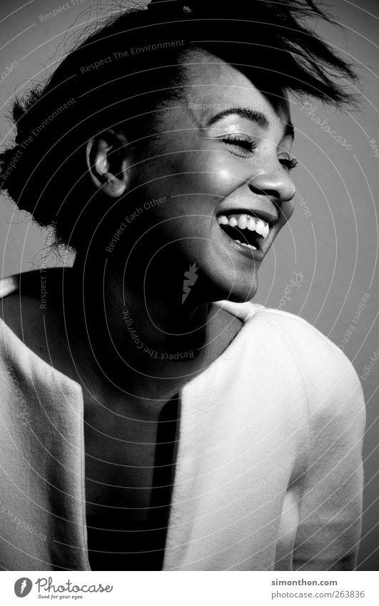 lachen Mensch schön Gesicht sprechen Gefühle Haare & Frisuren Glück Gesundheit Business Haut Erfolg Lifestyle Studium Zähne Model