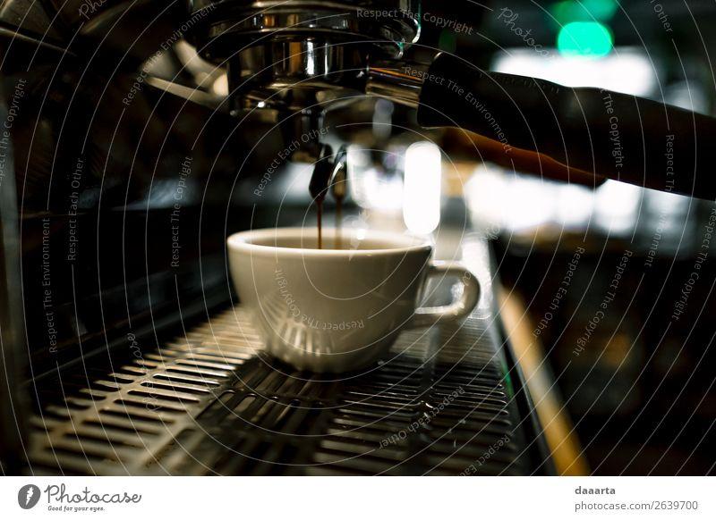 Morgenkaffee 4 Getränk Heißgetränk Kaffee Latte Macchiato Espresso Becher Kaffeetasse Kaffeepause Lifestyle elegant Stil Design Freude Leben harmonisch