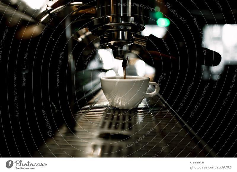Morgenkaffee 5 Getränk Heißgetränk Kaffee Latte Macchiato Espresso Becher Lifestyle elegant Stil Freude Leben harmonisch Freizeit & Hobby Abenteuer Freiheit