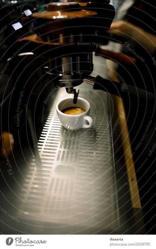 geräucherter Kaffee Getränk Heißgetränk Kakao Latte Macchiato Espresso Becher Café Kantine Kaffeemaschine Lifestyle elegant Stil Design Freude Leben harmonisch
