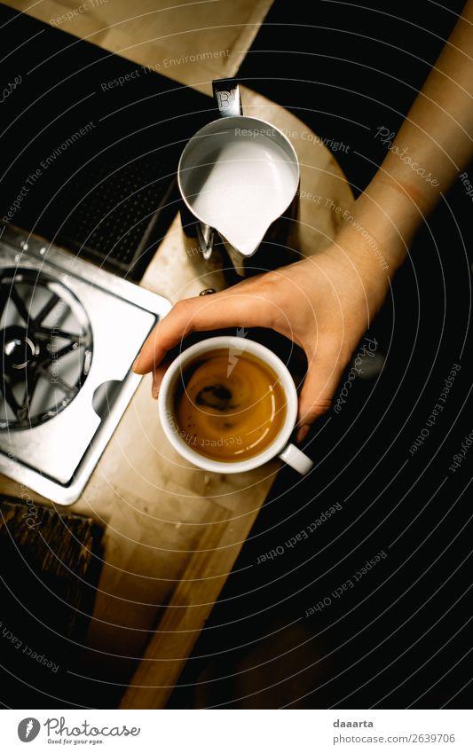 Freude Lifestyle Leben Stil Feste & Feiern Freiheit Stimmung Freizeit & Hobby elegant Fröhlichkeit Erfolg Abenteuer einfach Küche Kaffee Getränk