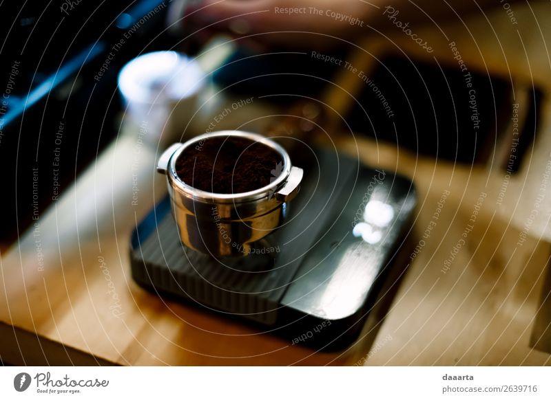 Kaffeemaschine Getränk trinken Heißgetränk Espresso Lifestyle Stil Leben harmonisch Freizeit & Hobby Abenteuer Küche Veranstaltung Restaurant Bar Cocktailbar