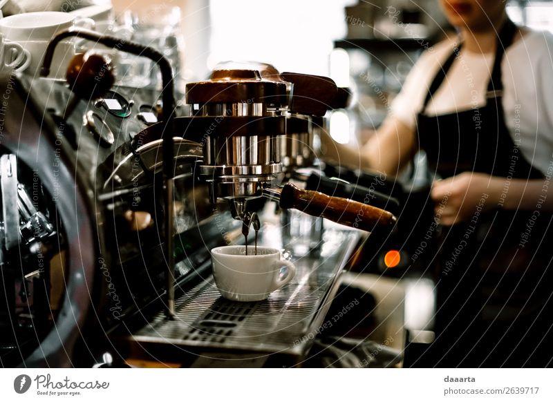 Morgenkaffee Getränk Heißgetränk Kaffee Espresso Becher Lifestyle elegant Stil Design Freude Leben harmonisch Freizeit & Hobby Abenteuer Freiheit Veranstaltung