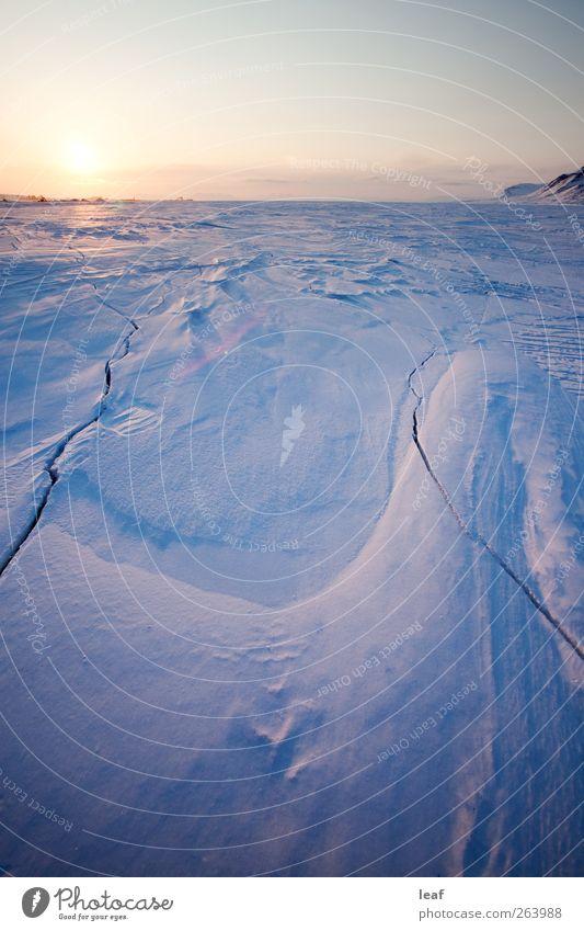 Natur schön Sonne Meer Winter Landschaft kalt Schnee Berge u. Gebirge See Horizont Eis Tourismus Frost Norwegen Fjord