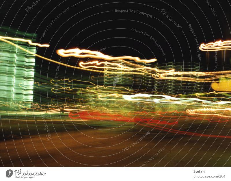 Lightwave: alpha Licht Langzeitbelichtung Dresden Unschärfe dunkel Nacht Blur