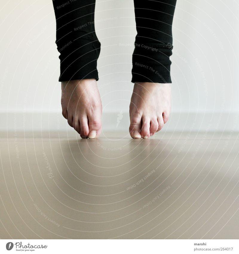 Ballerina Mensch Frau Erwachsene Leben feminin Beine Fuß Tanzen Freizeit & Hobby Spitze sportlich Spannung Balletttänzer Geschicklichkeit Leggings