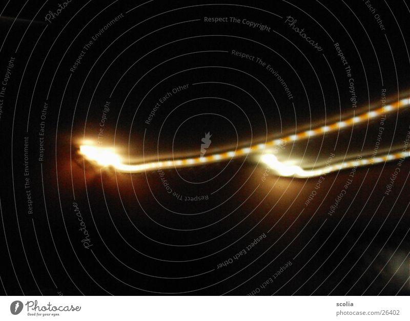 Bunte Neonröhre Geschwindigkeit Blitze Neonlicht Leuchtstoffröhre