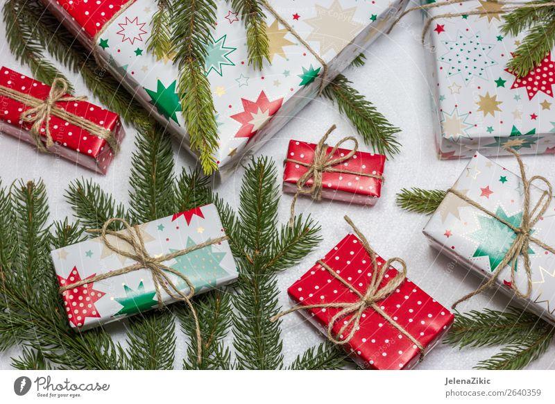 Weihnachtsgeschenkboxen kaufen Winter Dekoration & Verzierung Schreibtisch Tisch Tapete Feste & Feiern Weihnachten & Advent Silvester u. Neujahr Baum Papier