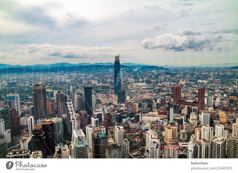 multikulti | ein kessel buntes Ferien & Urlaub & Reisen Tourismus Ausflug Abenteuer Ferne Freiheit Sightseeing Himmel Wolken Kuala Lumpur Malaysia Asien