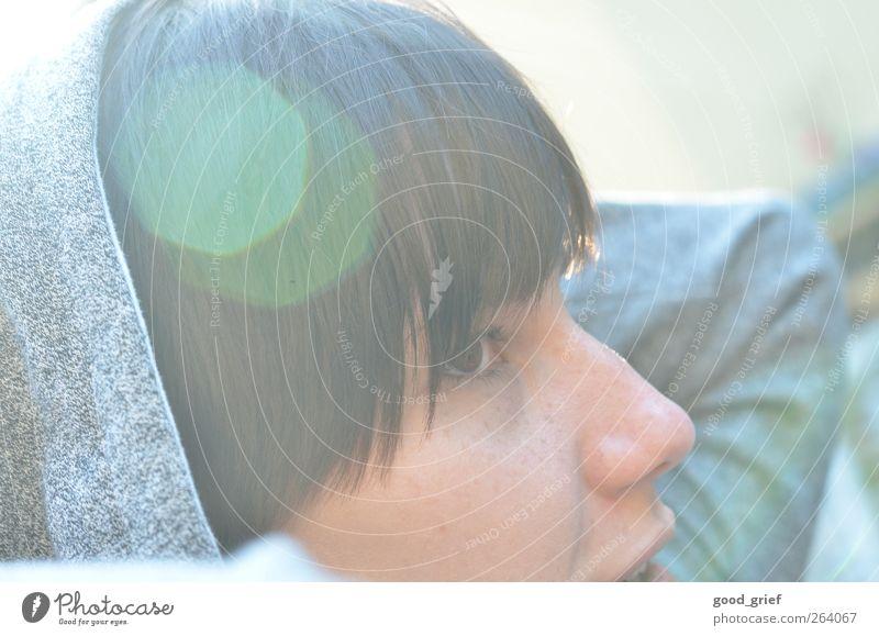 frühlingssonne Mensch feminin Mädchen Junge Frau Jugendliche Erwachsene Haut Kopf Haare & Frisuren Auge Ohr Nase Mund Lippen 1 18-30 Jahre Freude Lebensfreude