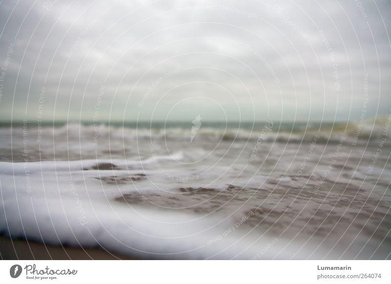 long slow distance Himmel Natur Wasser Strand Wolken Einsamkeit Ferne Umwelt dunkel kalt Sand Erde Luft Horizont Wellen nass