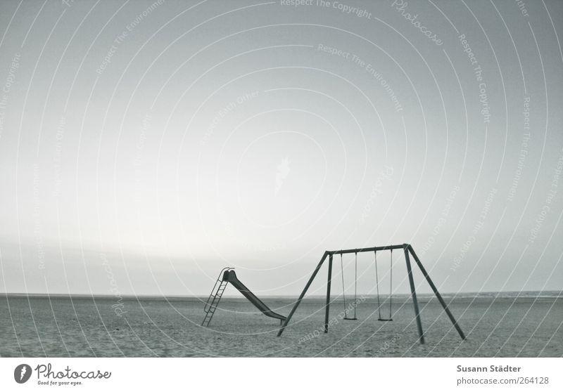 .Happy Birthday, Nordreisender Ferien & Urlaub & Reisen Ferne Sommer schaukeln Schaukel Rutsche Einsamkeit Unbewohnt Spiekeroog Erholung Meer Nordsee