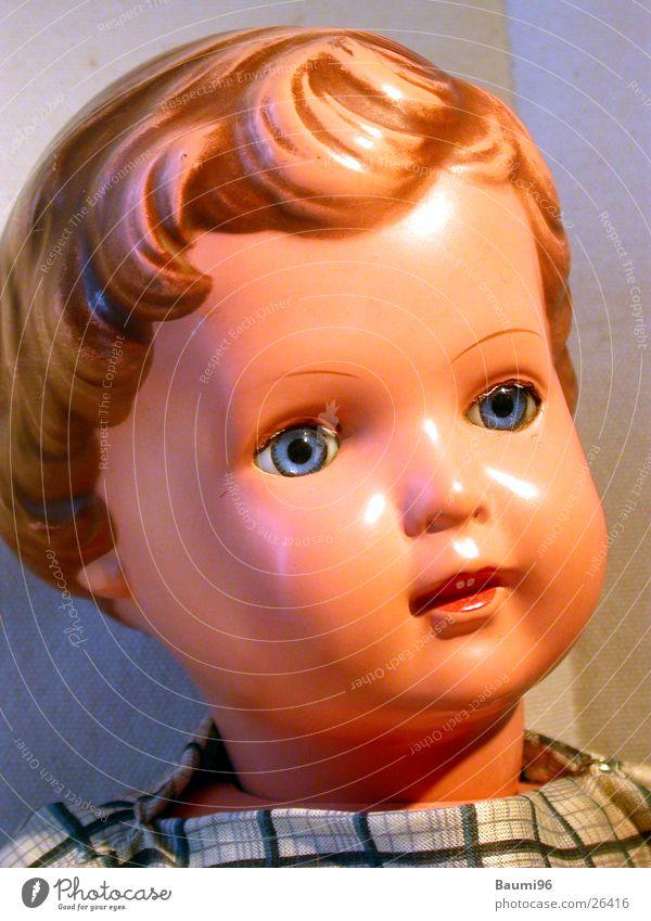 Puppe Part3 Mädchen alt Spielen Dinge Puppe Nostalgie