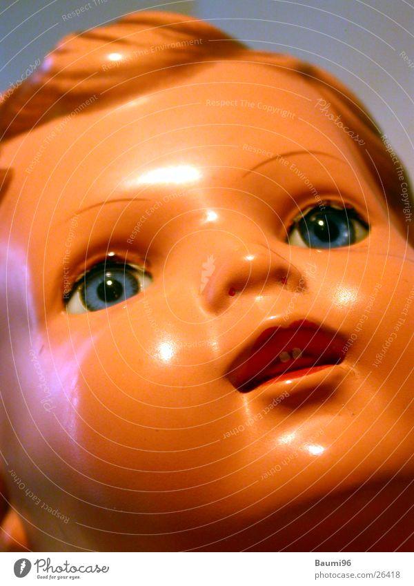 Puppe Part1 Mädchen alt Spielen Dinge Nostalgie