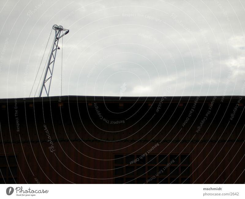 hafen_kran Kran Fototechnik Lagerhalle Scheune Wind