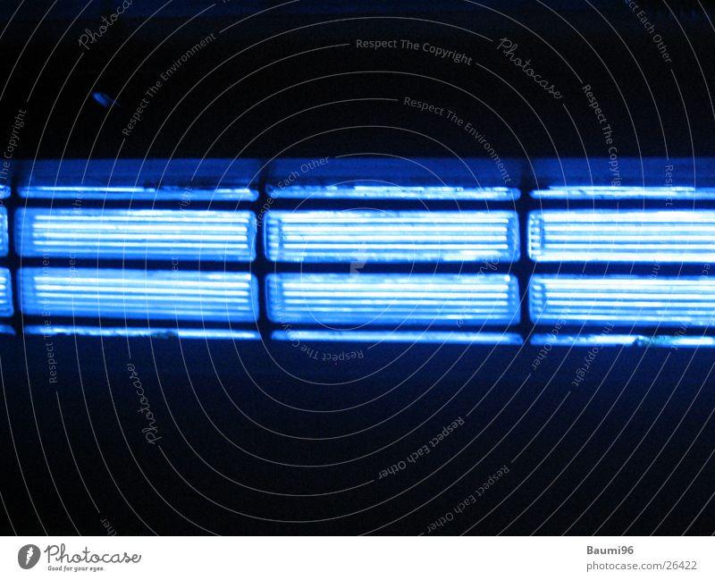 Blue Lightning blau schwarz Lampe Beleuchtung Dinge
