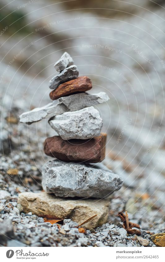 Stein Manschgerl Lifestyle Freude Glück sportlich Fitness harmonisch Wohlgefühl Zufriedenheit Sinnesorgane Erholung ruhig Meditation Freizeit & Hobby