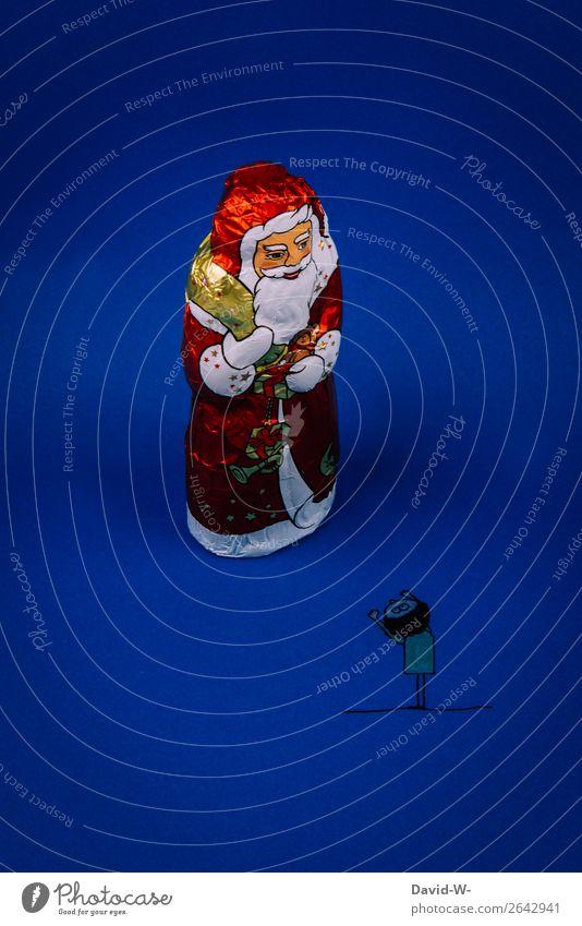 Weihnachtswunsch Stil Design Freude Glück Feste & Feiern Weihnachten & Advent Kindererziehung Mensch maskulin Kleinkind Junge Mann Erwachsene Kindheit Leben 1