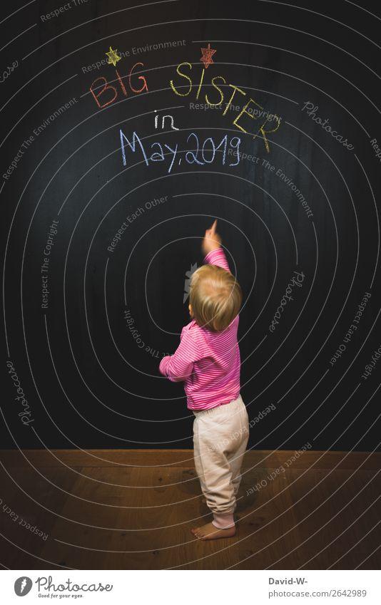 Überraschung | ... Lifestyle elegant Stil Design Geburtstag Mensch feminin Kind Kleinkind Mädchen Kindheit Leben Hand Finger 1 1-3 Jahre Kunst beobachten Denken