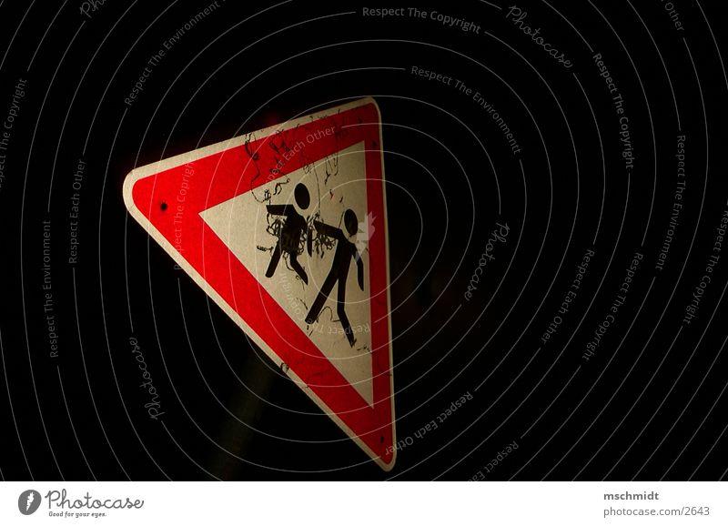 sp!elk!nder Kind Verkehr Nacht Schilder & Markierungen Vorsicht