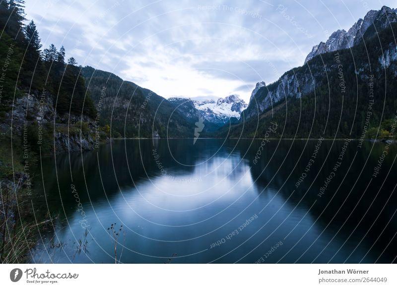 Mountain lake Tourismus Ausflug Abenteuer Freiheit Berge u. Gebirge wandern Natur Landschaft Wasser Wald Felsen Alpen Seeufer entdecken Erholung