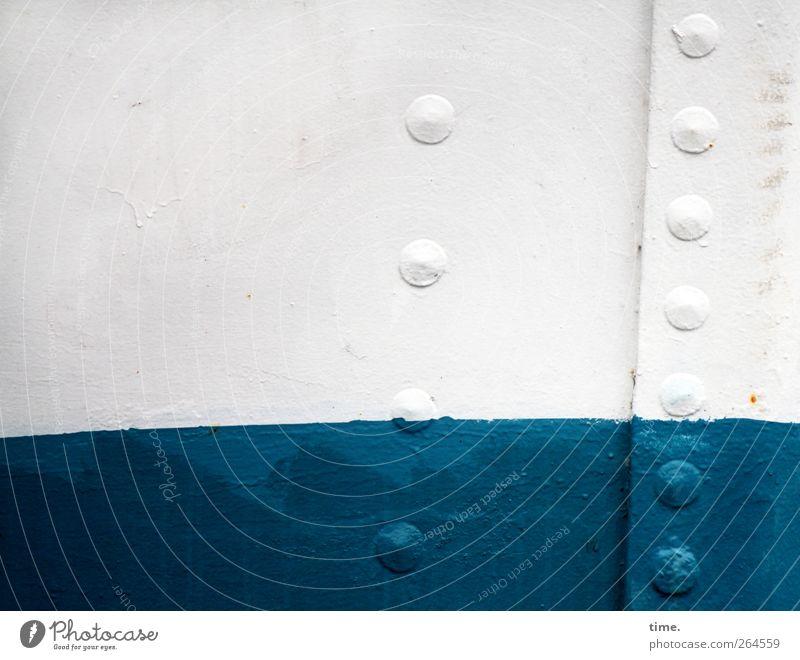 KI09   Aufsteigende Laune Verkehrsmittel Schifffahrt Binnenschifffahrt Fähre Hafen Niete Metall ästhetisch Zufriedenheit Partnerschaft Einsamkeit entdecken
