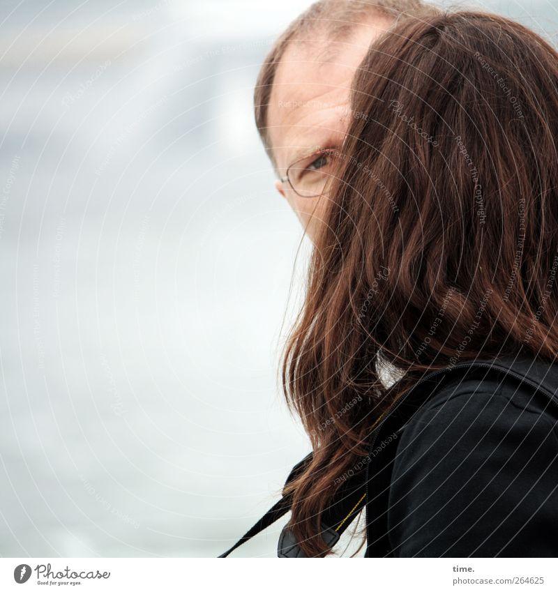 KI09 | Spökenkieker Mensch Gesicht Erwachsene Liebe feminin Gefühle Kopf Haare & Frisuren Glück Paar Freundschaft Stimmung Zufriedenheit maskulin Sicherheit