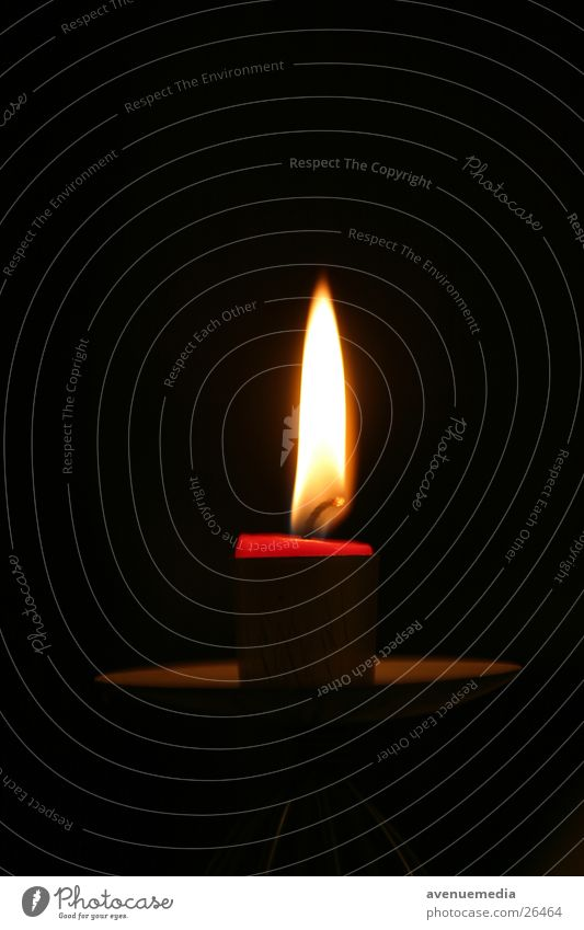 Kerze naht dem Ende Brand Kerze Ende Dinge Flamme kurz Wachs Kerzendocht