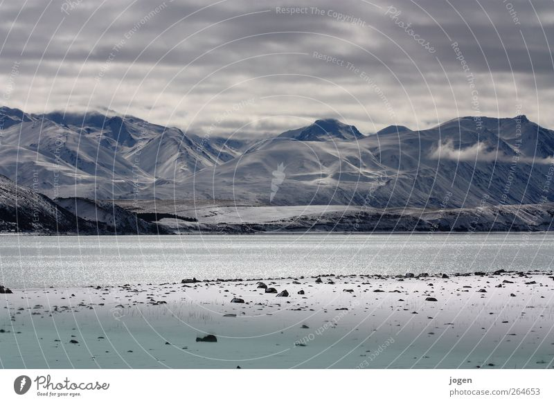 Lichtspiel Umwelt Natur Landschaft Luft Wasser Himmel Wolken Herbst Winter Klima Wetter Wind Eis Frost Schnee Felsen Berge u. Gebirge Gipfel