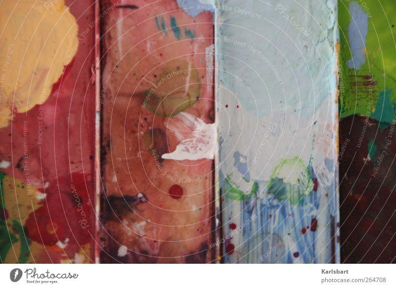 4 Jahreszeiten Design Freizeit & Hobby Basteln Handarbeit malen Häusliches Leben Renovieren Kindergarten lernen Werbebranche Kunst Künstler Maler Gemälde Mauer
