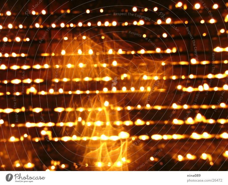 Feuer und Flamme Kerze Licht Fototechnik Brand