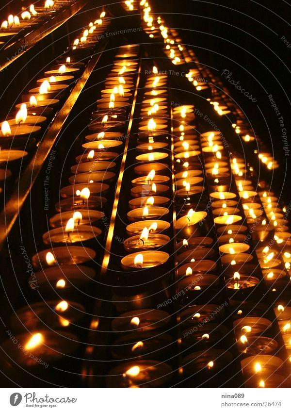 church candelz Kerze Nacht Dinge Licht Brand Religion & Glaube