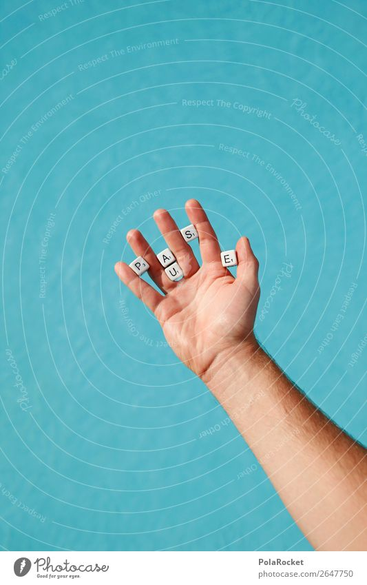 #AS# Hand voll Pause Lifestyle Wahrheit Freiheit Symbole & Metaphern Kreativität Baustein Buchstaben Zeichen Freizeit & Hobby Schwimmbad blau wichtig