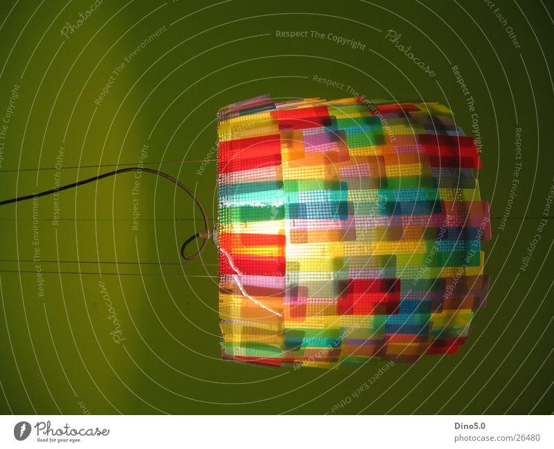Lampe mehrfarbig grün Licht rot gelb Stil Elektrisches Gerät Technik & Technologie Kabel Seil