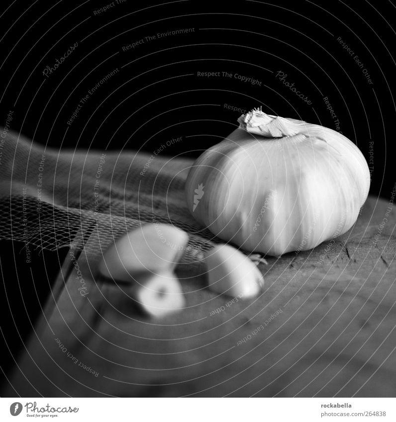strukturfetisch. Lebensmittel ästhetisch Gemüse Stillleben Knoblauch Knoblauchknolle