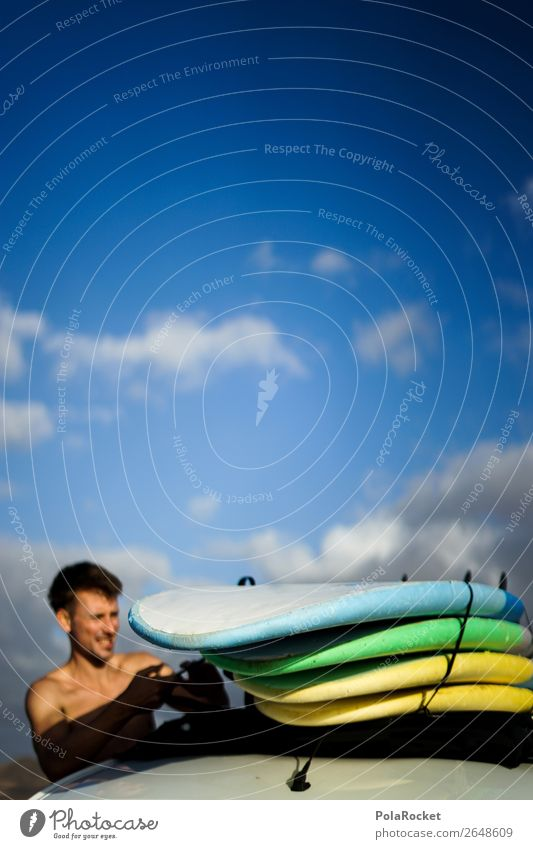 #AS# preparing 1 Mensch ästhetisch Surfen Surfer Surfbrett Surfschule Vorbereitung Ferien & Urlaub & Reisen Urlaubsfoto Urlaubsstimmung Abenteuer Urlaubsort