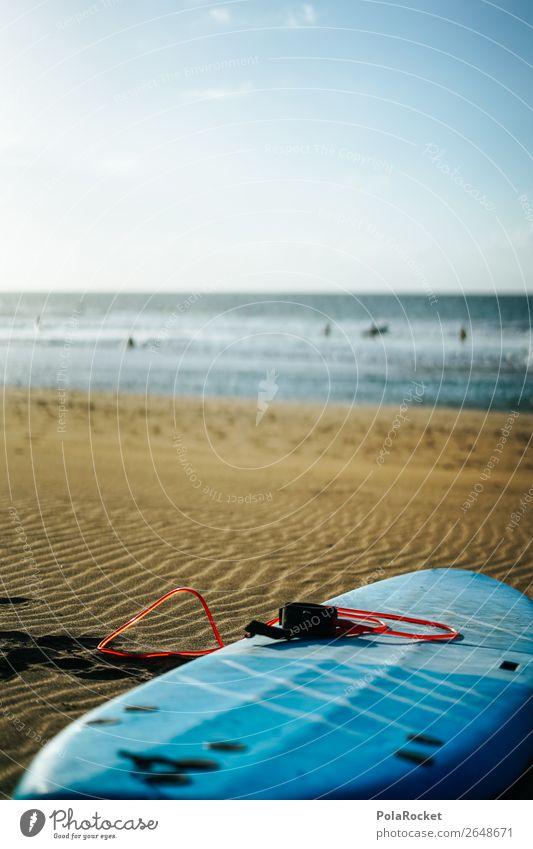 #AS# Day Off Ferien & Urlaub & Reisen Strand Sport Kunst Sand ästhetisch Surfen Sandstrand Wassersport Surfer Urlaubsfoto Surfbrett Fuerteventura Urlaubsort
