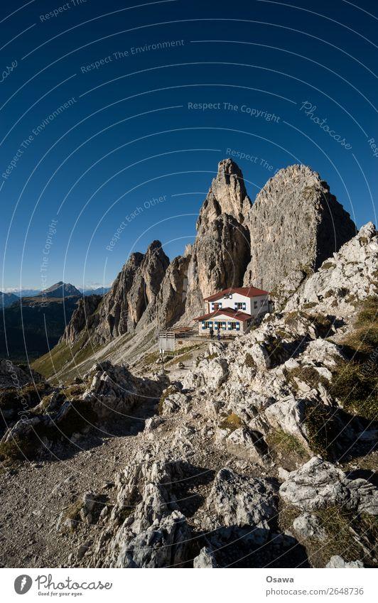 Rifugio Fonda Savio Italien Südtirol Alpen Berge u. Gebirge Felsen Stein Gipfel Landschaft Dolomiten wandern Bergsteigen Klettern Natur Wiese hoch Hochalpen