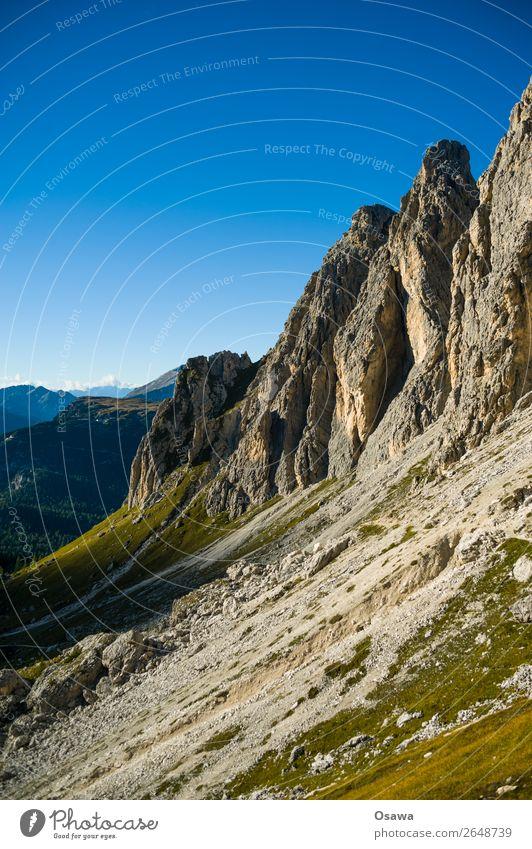 Südtirol Erholung ruhig Ferien & Urlaub & Reisen Abenteuer Sommer Berge u. Gebirge wandern Sport Klettern Bergsteigen Umwelt Natur Landschaft Himmel