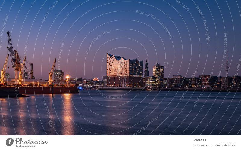 Schönste Stadt Skyline 10 Hafenstadt Turm Bauwerk Gebäude Architektur Sehenswürdigkeit Wahrzeichen Elbphilharmonie Michaeliskirche Kehrwiederspitze