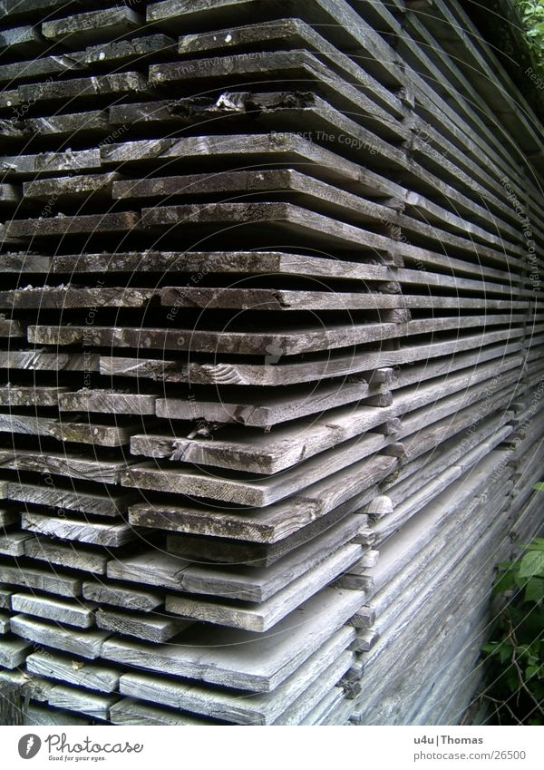 Holzverschlag Freizeit & Hobby Hütte Holzbrett