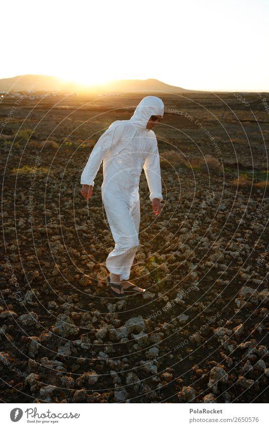 #AS# white unknown Lifestyle ästhetisch weiß Kostüm Karnevalskostüm laufen Stein Mensch entdecken Wüste Mars Marslandschaft Sonnenbrille Mond Mondlandschaft