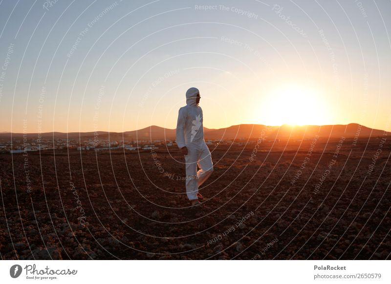#AS# Walking Man Kunst Kunstwerk ästhetisch Mars Marslandschaft Marsianer Außerirdischer außergewöhnlich außerirdisch außerorts Sonne Sonnenlicht Sonnenstrahlen