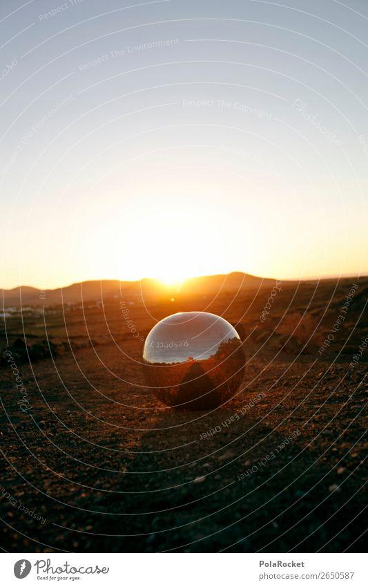 #AS# golden Murmel Umwelt Natur Landschaft Erde Sand Klima Klimawandel Schönes Wetter ästhetisch Kugel kugelrund Kugellager Disco Discokugel Mars Marslandschaft