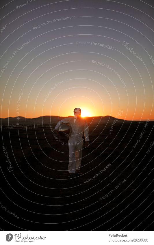 #AS# welcome home Mensch maskulin Junger Mann Jugendliche Vorfreude Kunst ästhetisch Mars Marslandschaft Marsianer Kostüm Karnevalskostüm Astronaut Astronomie