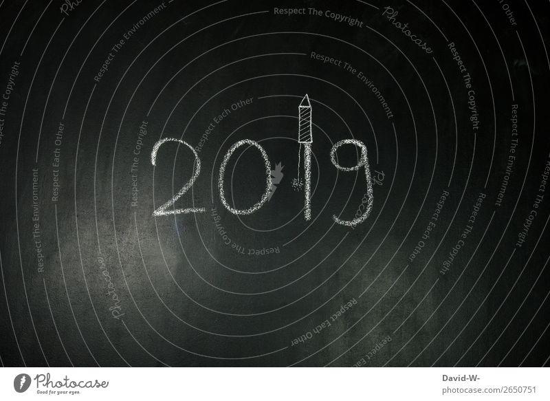 Silvester Nachtleben Entertainment Party Veranstaltung Feste & Feiern Silvester u. Neujahr Mensch Leben Kunst elegant 2019 2018 Jahr Ziffern & Zahlen vorsetze
